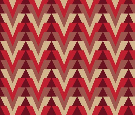 Arrow Alt Bing Cherry fabric by dolphinandcondor on Spoonflower - custom fabric