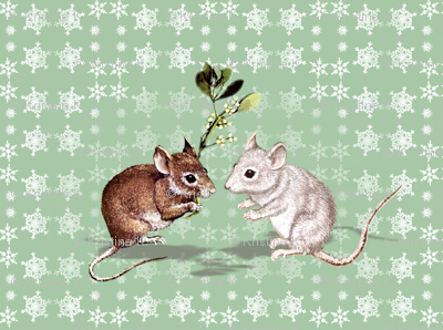 Mistletoe Mice