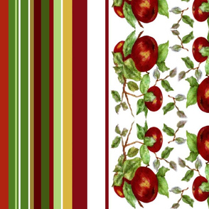 Apples stripe