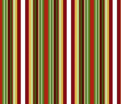 Apples stripe fabric by paragonstudios on Spoonflower - custom fabric