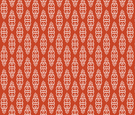 WINDOW red/white fabric by heatherrothstyle on Spoonflower - custom fabric