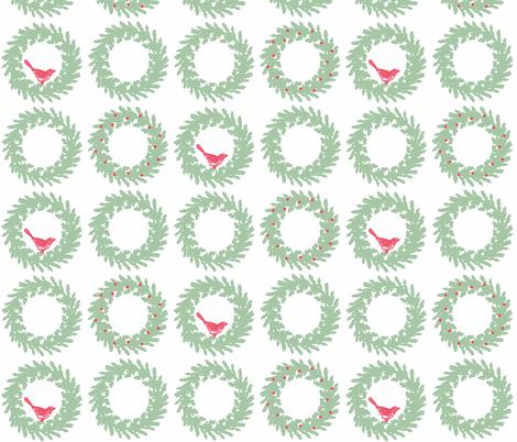 Deck the Halls fabric by hauteideas on Spoonflower - custom fabric