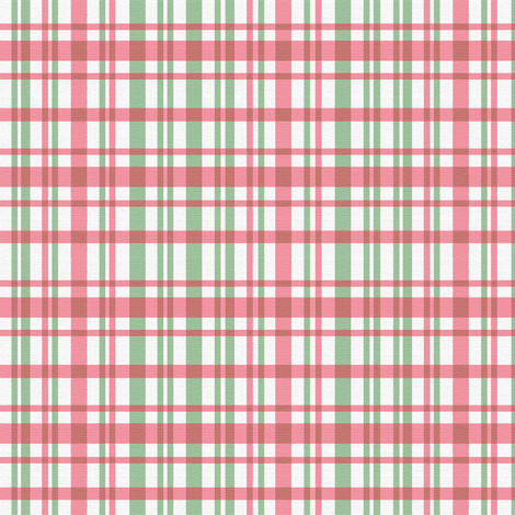 Holly Plaid fabric by hauteideas on Spoonflower - custom fabric