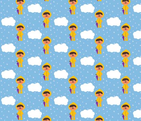Autumn rain fabric by sawabona on Spoonflower - custom fabric