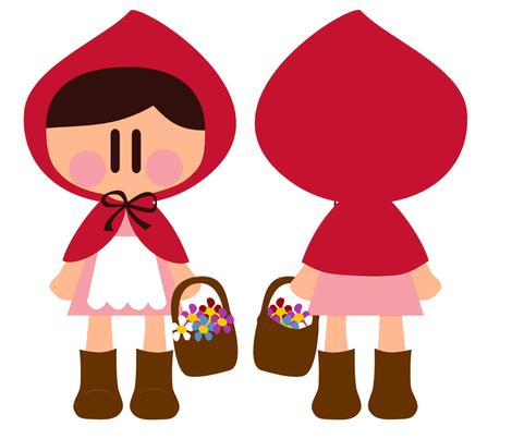 Little Red Riding Hood  fabric by sawabona on Spoonflower - custom fabric