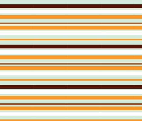 squirrel stripes fabric by mrshervi on Spoonflower - custom fabric