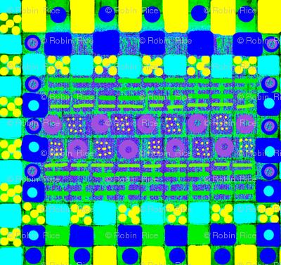 Bright Antique Tiles