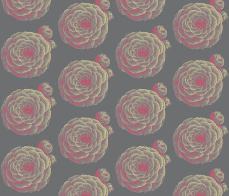 Camellia fabric by dolphinandcondor on Spoonflower - custom fabric
