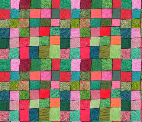 botanica patchwork fabric by aprilmariemai on Spoonflower - custom fabric