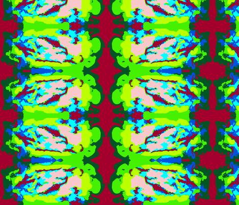 Grandma's Garden fabric by robin_rice on Spoonflower - custom fabric