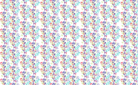 folliage fabric by locamode on Spoonflower - custom fabric