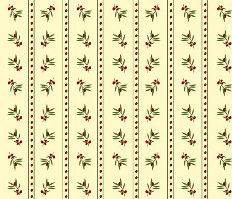 Bunches and Stripes fabric by featheredneststudio on Spoonflower - custom fabric