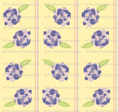 Striped Purple Peony