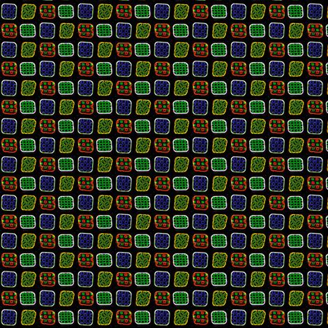 Neon Squares fabric by siya on Spoonflower - custom fabric