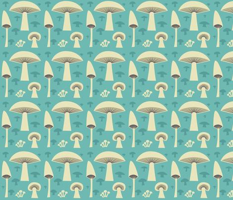 mush_green fabric by antoniamanda on Spoonflower - custom fabric