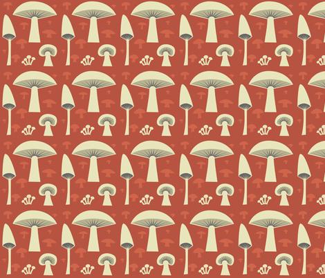 mush_red fabric by antoniamanda on Spoonflower - custom fabric
