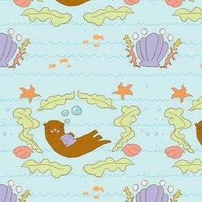 Sea Otter Salad