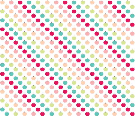Apples in Sugar fabric by kaddy_w on Spoonflower - custom fabric