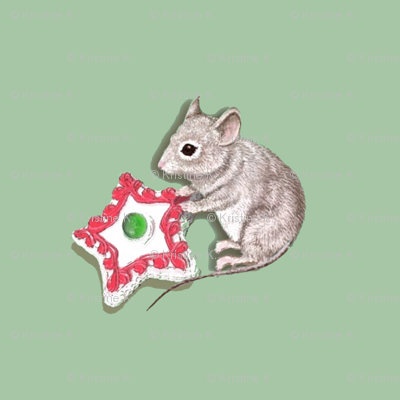 "Ivy's Cookie (8""x8"" swatch pocket print)"