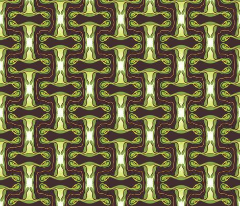 Jealous Uterus fabric by kahoxworth on Spoonflower - custom fabric