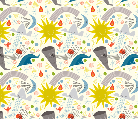 The Elements by Lizzy House fabric by celebritysmackdown on Spoonflower - custom fabric