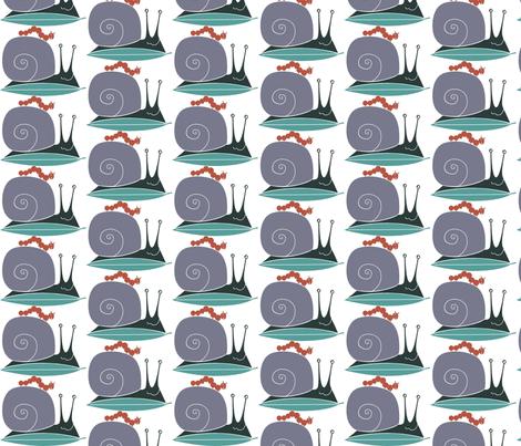 snail_buddy fabric by antoniamanda on Spoonflower - custom fabric