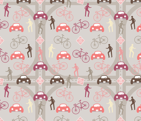 Road for All_ST fabric by deesignor on Spoonflower - custom fabric