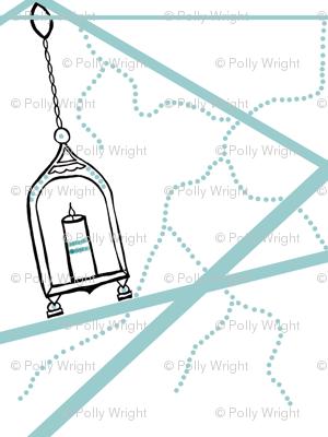 lanterns in the wind