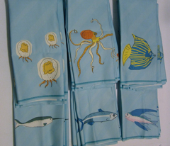 flying fish towel