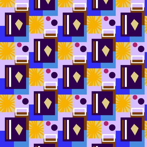 Hotel Sandrine Sunburst fabric by boris_thumbkin on Spoonflower - custom fabric