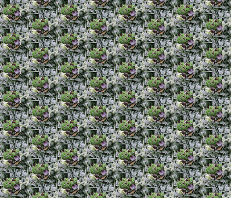 frost fairies small fabric by zega on Spoonflower - custom fabric