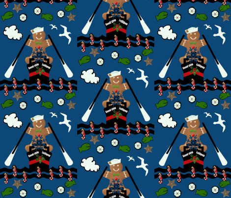 One good ship  fabric by paragonstudios on Spoonflower - custom fabric