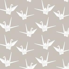 Folded Friends: Warm Gray