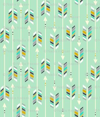 Large Arrows: Wintergreen