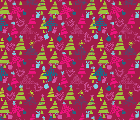 Holiday Jamboree fabric by sbd on Spoonflower - custom fabric