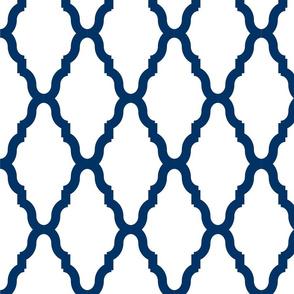 Sea Blue Lattice 2