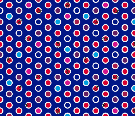 ladybird_spot_6 fabric by coggon_(roz_robinson) on Spoonflower - custom fabric