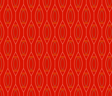 Ornaments fabric by tammikins on Spoonflower - custom fabric