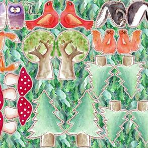 les amis de la forêt v3