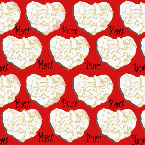 I love 19 cats fabric by eclectic_house on Spoonflower - custom fabric