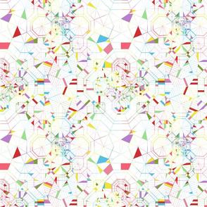Origami Rainbow Segments