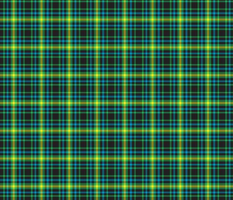 Gamer Plaid 3 fabric by modgeek on Spoonflower - custom fabric