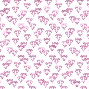 Diamond repeat pink