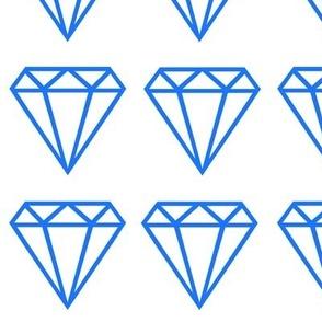 Diamond large blue