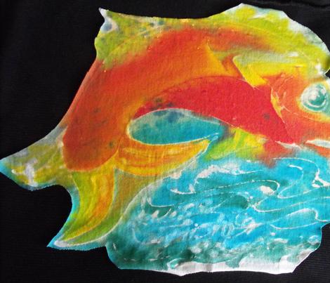 FantasyFish fabric by billichki on Spoonflower - custom fabric