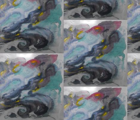 Wise_Water fabric by billichki on Spoonflower - custom fabric