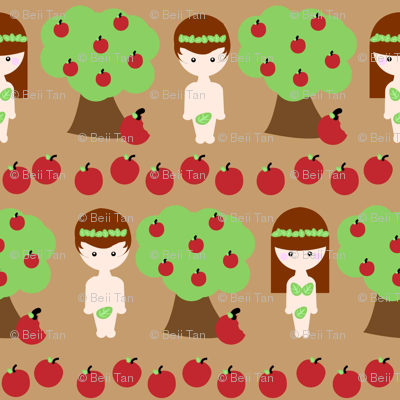 Adam and Eve and The Apple Tree