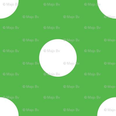 Christmas dots (green)