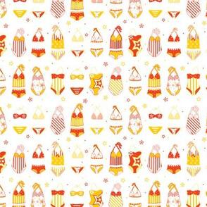 Stars, Stripes & Swimming Orange/Yellow XS - © Lucinda Wei