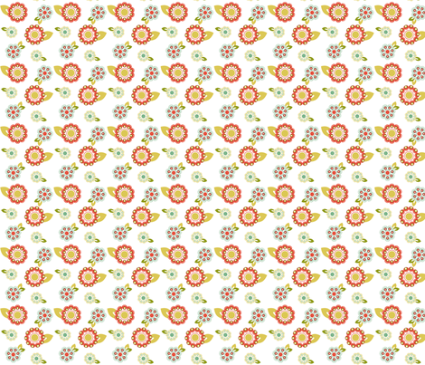 flower_design fabric by printablecrush on Spoonflower - custom fabric